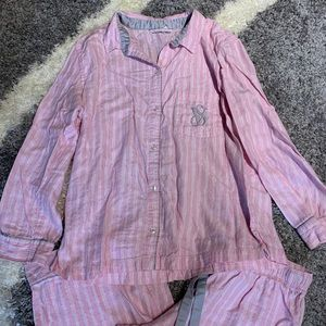 Victoria's Secret Intimates & Sleepwear - Victoria's Secret Pajama Set Medium Stripes